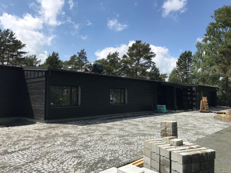 Montage av Monoputs i villa, Åhus